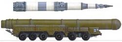 Межконтинентальная баллистическая ракета 15Ж42 РТ-2С «Темп-2С»