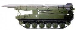 Самоходная пусковая установка 2П16 ракетного комплекса 2К6 «Луна»