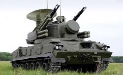 Зенитный пушечно-ракетный комплекс 2К22М1 «Тунгуска-М1»