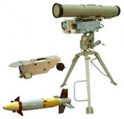 Противотанковый ракетный комплекс 9К135 Корнет