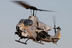 Боевой вертолёт AH-1W Super Cobra