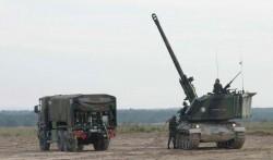 Самоходная гаубица AMX-30 AuF1