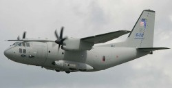 Военно-транспортный самолёт Aeritalia G.222 / C-27J Spartan