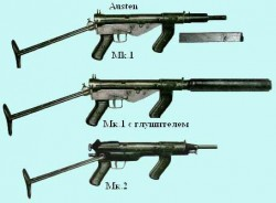 Пистолет-пулемёт AuSTEN