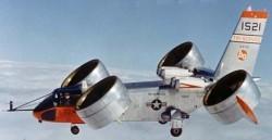 Экспериментальный самолёт Bell X-22A