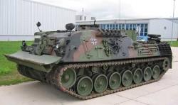 Бронированная ремонтно-эвакуационная машина Bergepanzer 2A1 Standard
