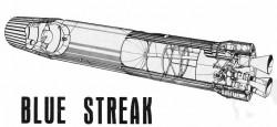 Баллистическая ракета средней дальности Blue Streak