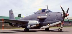 Палубный штурмовик Breguet Br.1050 «Alize»