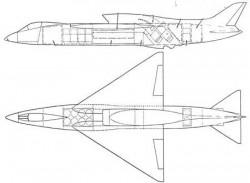 Проект разведывательно-ударного СВВП Canadair CL-72 VTOL