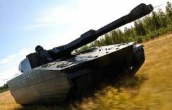 Опытный танк CV90 Adaptiv