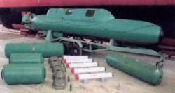 Групповой подводный носитель Cosmos CE2F/X100-T