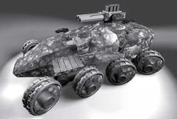Проект колесной бронированной машины DARPA GXV-T