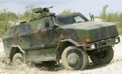 Бронеавтомобиль Dingo 2