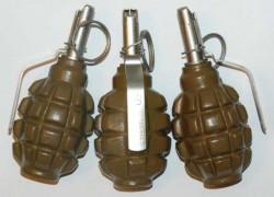 Ручная граната Ф-1 с запалом Ковешникова