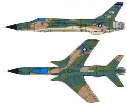 Истребитель-бомбардировщик F-105 Thunderchief