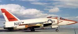 Палубный истребитель Grumman F-11F-1F Super Tiger