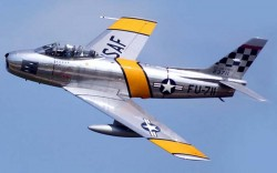 Истребитель F-86A Sabre