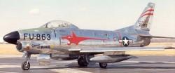Перехватчик F-86D Sabre Dog