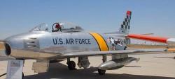 Истребитель-бомбардировщик F-86F Sabre