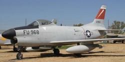 Истребитель-перехватчик F-86L Sabrejet