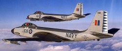 Палубный истребитель F2H Banshee