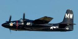 Палубный истребитель Grumman F7F Tigercat