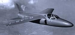 Опытный истребитель Folland Fo.139 Midge