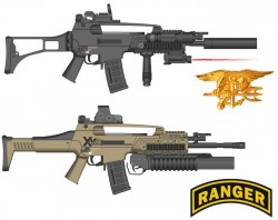 Штурмовая винтовка XM8