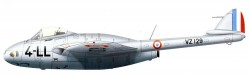 Истребитель-бомбардировщик DH.100 Vampire