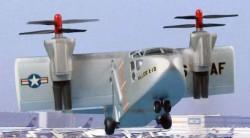Опытный самолёт Hiller X-18