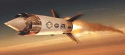 Экспериментальная гиперзвуковая ракета Boeing HyFly