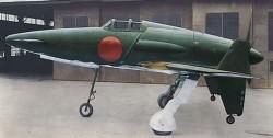 Опытный истребитель Kyushu J7W Shinden