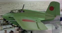 Опытный истребитель Mitsubishi J8M Shusui