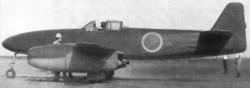 Опытный истребитель Nakajima J8N1 Kikka