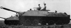 Противотанковая САУ Henschel Jagdpanzer JPz 4-5