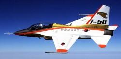 Учебно-боевой самолёт KAI T-50 Golden Eagle