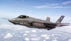 Истребитель-бомбардировщик Lockheed F-35