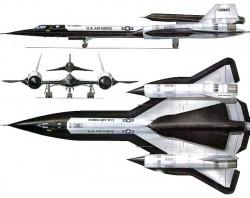 Беспилотный разведчик Lockheed D-21 и Lockheed M-21