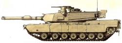 Основной танк M1A2 Abrams