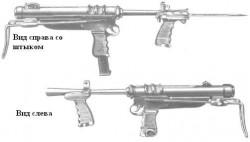 Пистолет-пулемёт МСЕМ-1