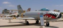Многоцелевой истребитель MD.450 Ouragan