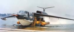 Противолодочный самолёт Martin P6M SeaMaster