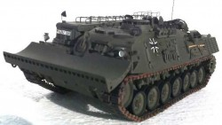 Бронированная инженерная машина «Pionierpanzer 1»