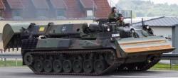 Бронированная инженерная машина «Pionierpanzer 2 Dachs»