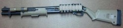 Помповое ружьё Remington 870 Express Tactical Magpul FDE