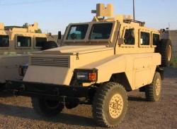 Бронеавтомобиль Reva Mk II