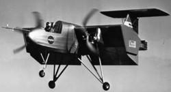 Экспериментальный самолёт Ryan VZ-3RY Vertiplane