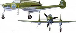 Истребитель SAAB J.21
