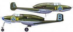 Истребитель SAAB J.21R