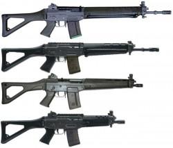 Штурмовая винтовка SIG SG 550 / SG 551 / Stgw 90
